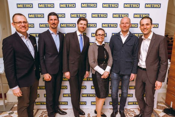 V.l.n.r. Team Metro Cash&Carry Österreich: Peter Karst (Head of Strategy & Marketing), Micheal Dippl