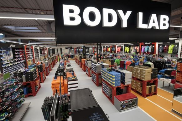 Innovatives Bodylab in der neuen Filiale