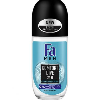 Fa Men Comfort Deodorant Roll-On, 50 ml
