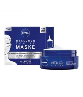 Nivea Hyluron Cellular Filler Schlafmaske, 50 ml