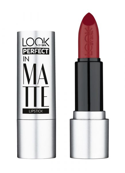 Look by Bipa, Perfect in Matte Lipstick, Nr.130, Pure Red, 2,25 Euro