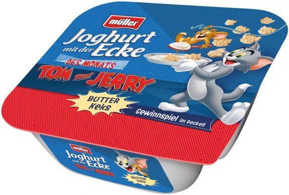 Molkerei Alois Müller: Tom & Jerry jagen das Gewinnspiel