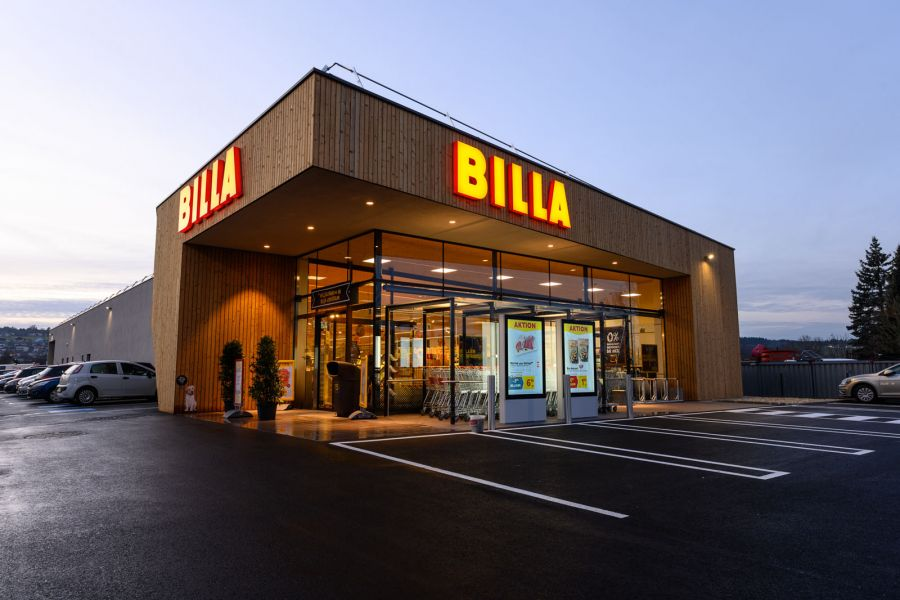 Billa in 5162 Obertrum am See, Handelsstraße 12