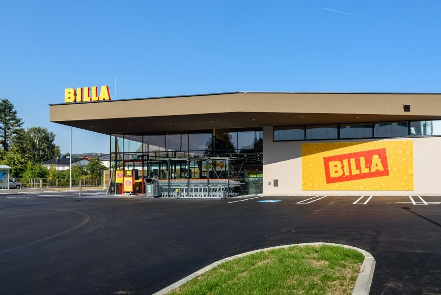 Die neue Billa-Filiale in Pasching