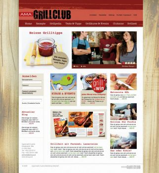 Ab Mai in neuer Optik und mit interessanten Features online: www.grillclub.at© AMA Marketing, produktiv - alle Bilder