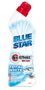 Das neue Blue Star 6xEffekt WC-Gel Total White. ©Henkel