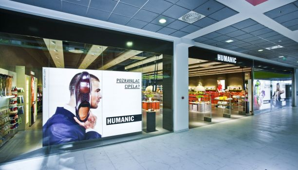Der neue Humanic Megastore im City Center One in Zagreb. © Humanic