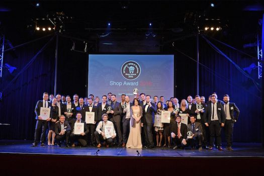 Die Gewinner des Shop Awards 2016 (Foto: Internet World Business)