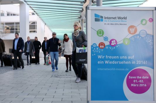 Erstmals auf der Internet World Messe: die Internet World Academy. (Foto Copyright: Marion Vogel)