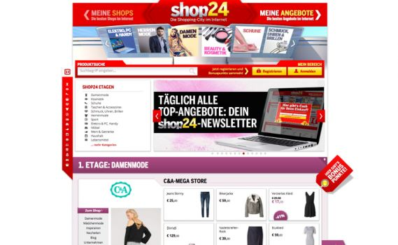 Screenshot: Shop24.at