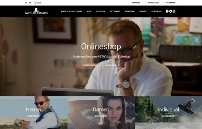 Screenshot: www.jacques-lemans.com/shop