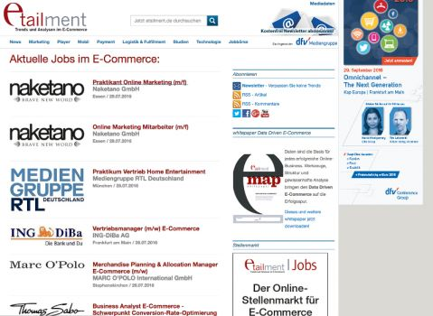 Screenshot: etailment.de/service/jobs