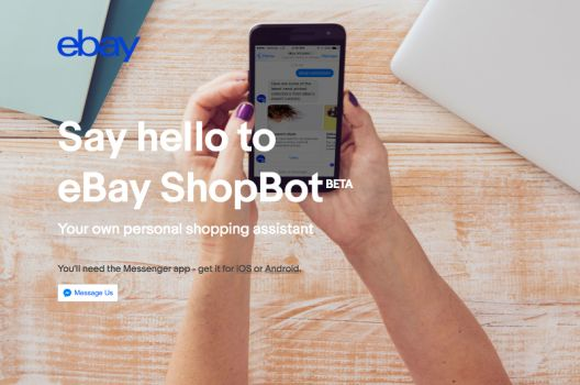 Screenshot: shopbot.ebay.com