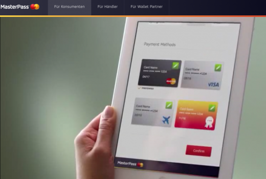 Screenshot: www.masterpass.com