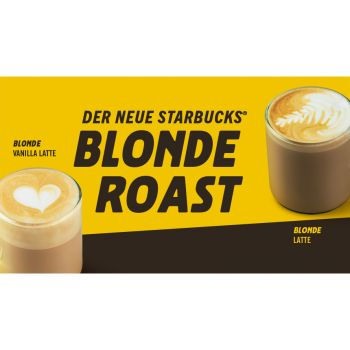 Blonde Espresso Roast © Starbucks
