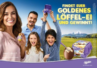 Die neue Promotion rükt die Familie in den Fokus. © Mondelēz International
