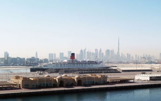 Queen Elizabeth 2 © Creative Commons/Diggle/Dubai Duty Free