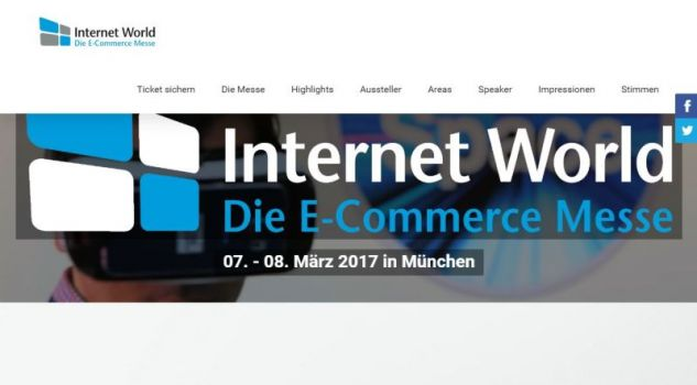 Screenshot: internetworld-messe.de