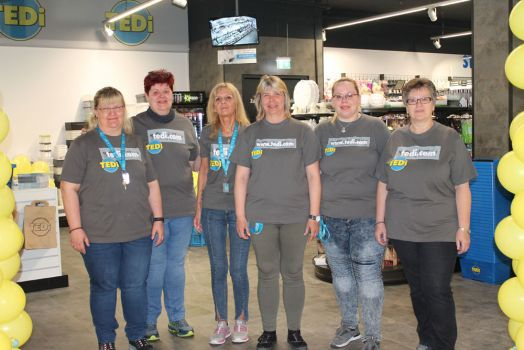 Das TEDi-Team in Tulln © Rosenarcade