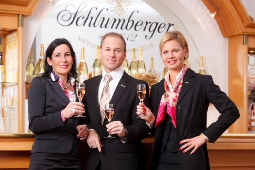 Das neue Marketingmanagement (v. l.): Anne Deutsch, Florian Czink, Karin Trimmel (c) Schlumberger/Top Spirit