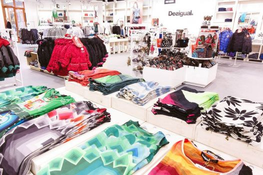 Der Desigual-Store im Freeport-Fashion-Outlet © Freeport