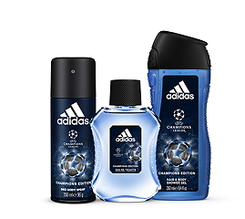 Die neue Adidas-Body-Care-Champions-Edition © Adidas