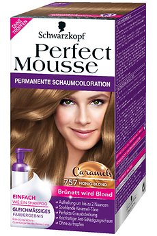 Perfect Mousse 757 Honig Blond Caramels © Henkel