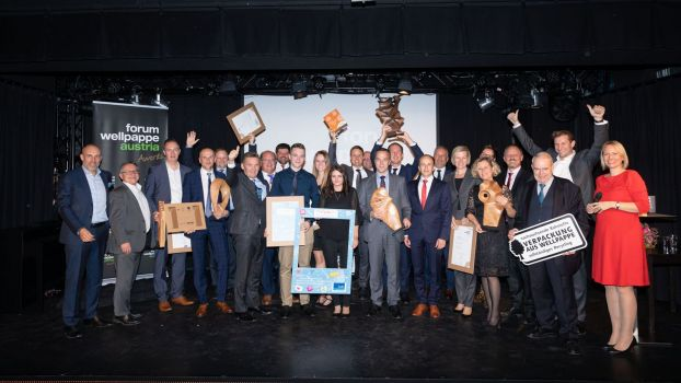 Alle Sieger des heurigen forum Wellpappe Awards