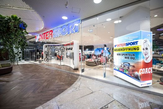 Das neue 3.000-m2-Intersport-Geschäft in der Plus City Pasching © Intersport Austria