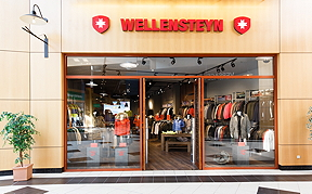 Der neue Wellensteyn-Shop bei Freeport © Freeport Fashion Outlet