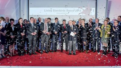 Die Preisträger des Living Standards Awards 2019 © Austrian Standards/Peter Tuma