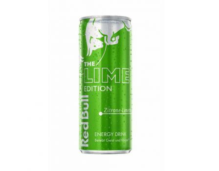 Die neue Red Bull Lime Edition. © Red Bull