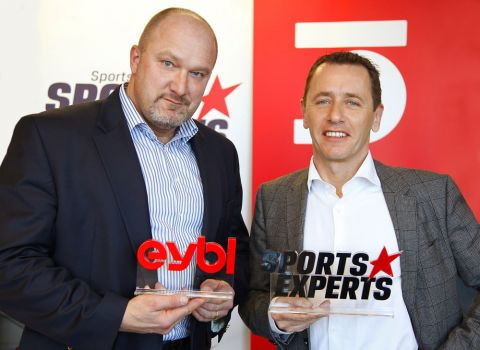 Mike Weccardt (l.) und Hubert Schenk leiten nun gemeinsam den Sportartikelhändler Sport Eybl/Sports Experts © Sport Eybl/Sports Experts