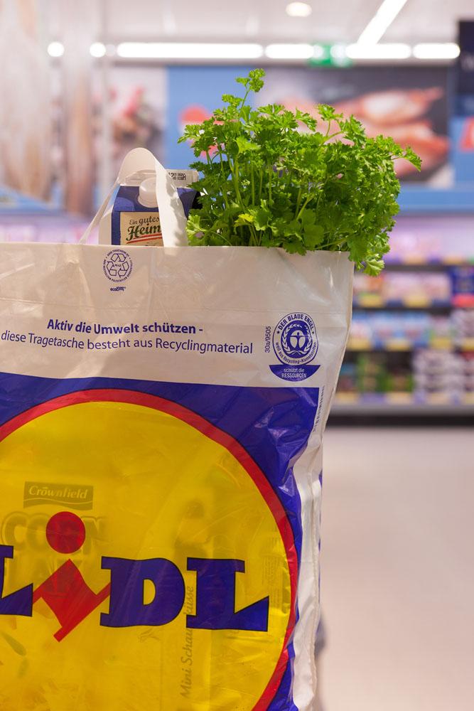 Lidl Österreich: Das Plastiksackerl-Aus, Teil 2