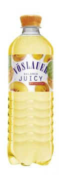 Start im September: Vöslauer Balance Juicy Pfirsich. ©Vöslauer