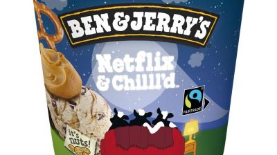 A star is born: Ben & Jerry's Netflix & Chill'd