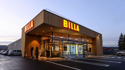 Der Billa in 5162 Obertrum am See, Handelsstraße 12