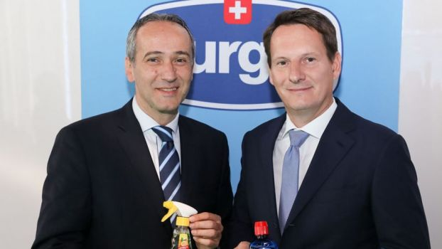Die Vertriebspartner: Gerd Trimmal, Managing Director Conaxess Trade Österreich und Andreas Hunte, Director Marketing / R&D, Business Development Manager Düring AG © durgol