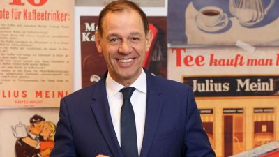 Marcel Löffler, CEO Julius Meinl Coffee Group