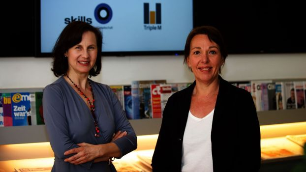 Karin Wiesinger, Partnerin The Skills Group und Christina Matzka, Triple M Gründerin